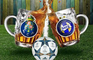Порту – БАТЭ. Лига Чемпионов 2014-15