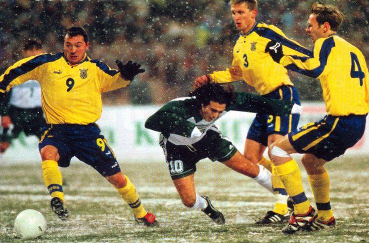 Найхолодніші матчі. Рік 1999-й. Україна - Словенія - изображение 5