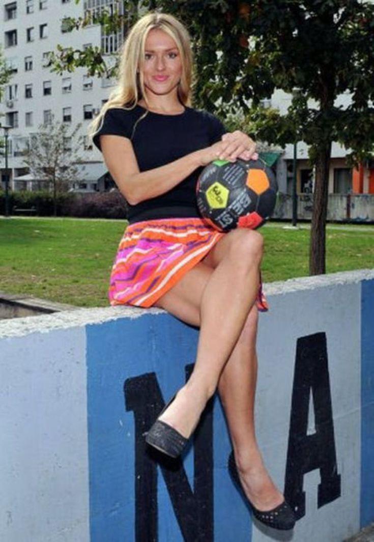 Русская блондинка с тренером 20 фотография